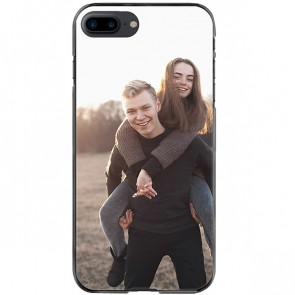 iPhone 8 PLUS - Softcase hoesje maken - Zwart, wit of transparant